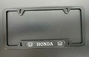1-METAL-Honda-CAR-LICENSE-PLATE-FRAME-Civic-si-Accord-Fit-Prelude-JDM-Wakaba