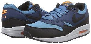 Detalles acerca de Para hombres Nike Air Max 1 Essential Calzado para Correr, 537383 Tamaños 402 Mult Azul Negro S mostrar título original