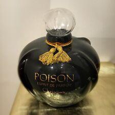 "Giant Dior Poison Esprit de Parfum Perfume Factice Display Bottle 28cm/11"" tall"