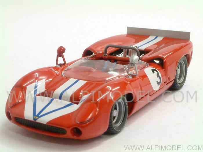 Lola T70 Spyder Bridgehampton 1968 G. Ralph 1 43 BEST 9429
