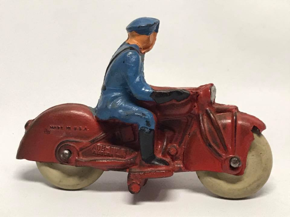 Vintage Auburn AUB-RUBR    Motorcycle 32c50e