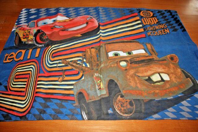 Pillowcase Disney Pixar Cars Lightning McQueen Tow Mater ...