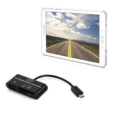 kwmobile 3 IN 1 MICRO USB CARD READER FÜR SAMSUNG GALAXY TAB S2 9.7 ADAPTER 2.0