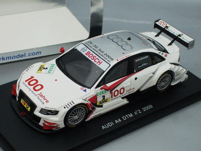 servicio considerado 1 43 Spark Audi Audi Audi A4 DTM 2009  2 T. Kristensen  precios razonables