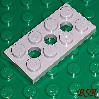 Techniksteine 1x2 mit Loch Neu 3700 light bluish gray Lego 50 hellgraue