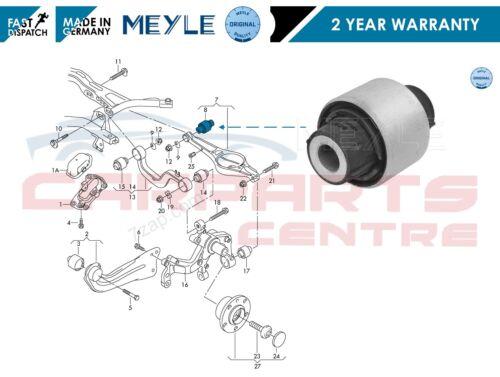 FOR AUDI A3 8P1 03- TT 8J3 8J9 06- REAR AXLE LOWER CONTROL ARM INNER BUSH MEYLE
