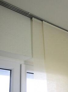 Details Zu Gardinenschiene Vorhangschiene Innenlaufrohre Fur Flachenvorhange Raumteiler