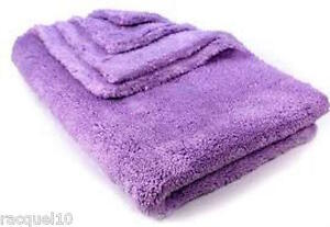 16-034-x16-034-Ultra-Plush-600gsm-Purple-Microfibre-Edgeless-Car-Detailing-Cloth-Towel