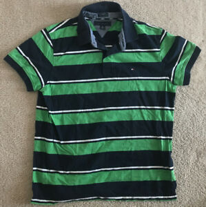 eec9195dc A imagem está carregando Camisa-Polo-Tommy-Hilfiger-Masculina -Grande-G-Personalizada-