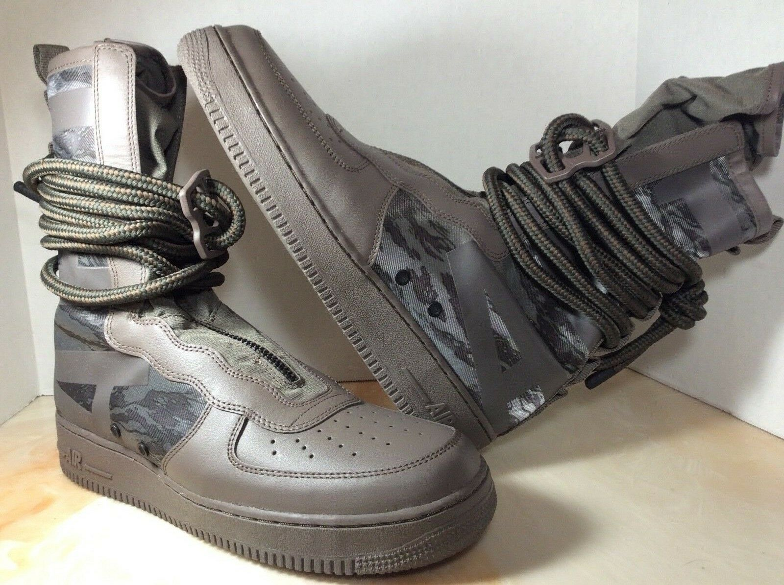 Nike AF1 SF High men size 11.5 Ridgerock Sequoia AA1128-203