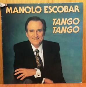 MANOLO ESCOBAR - TANGO, TANGO - LP/VINILO -ESPAÑA- 1992 (MB+/VG+ - MB+/VG+)