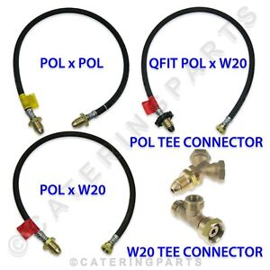 LPG-BOTTLE-CONNECTING-HOSES-AND-CONNECTOR-FITTINGS-PIECES-GAS-LP-HIGH-PRESSURE