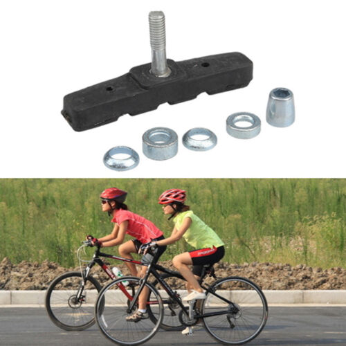 Lots V BRAKE Blocks Bicycle MTB Brake Block Rubber Pads Holder Rubber Acces