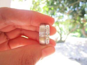 .36 Carat Diamond White Gold Wedding Rings 14K codeWR61 (MTO) sepvergara