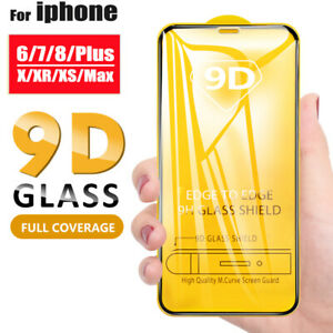 For-iPhone-6s-7-8-Plus-X-XR-XS-Max-9D-Full-Cover-Tempered-Glass-Screen-Protector
