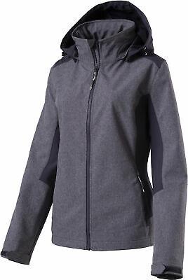 McKinley Damen-Wander-Trekking-Freizeit-Softshell-Jacke Trundle blau 273532 905