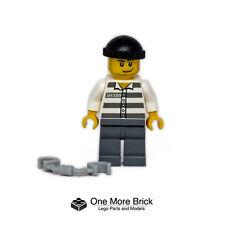 LEGO Prisoner / convict Minifigure with handcuffs