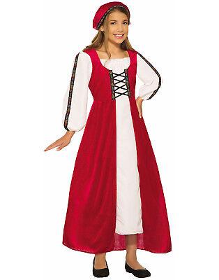 Renaissance Faire Girl Child Medieval Times Halloween Costume