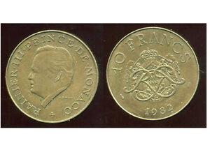MONACO-10-francs-1982