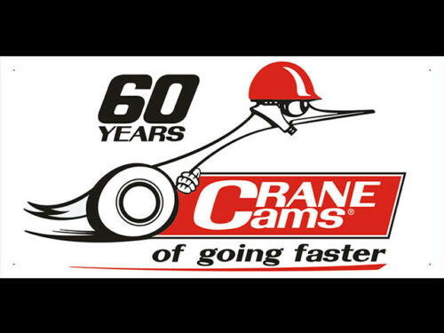 Crane Cams High Performance Shop Display Advertising Banner