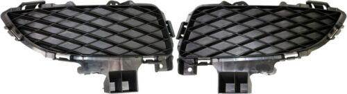 NEW FRONT BUMPER FOG LIGHT LAMP HOLE COVERS GRILLES SET R/&L FOR 04-06 MAZDA 3