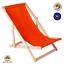 Liegestuhl-Holz-Strandliege-Sonnenliege-Gartenliege-Buchenholz-Liege-120-kg Indexbild 9