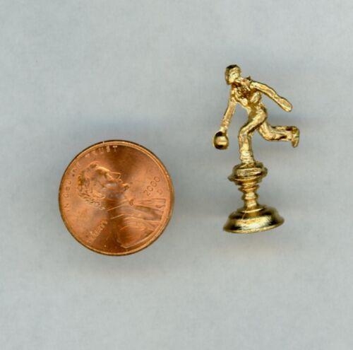 Miniature Dollhouse Bowling Trophy ISL