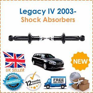 fuer-Subaru-Legacy-IV-2-0-2-5-3-0-R-AWD-2003-hintere-Stossdaempfer-Schauerromane