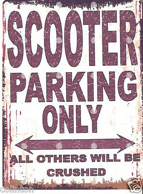 ALVIS PARKING SIGN RETRO VINTAGE STYLE 6x8in 20x15cm garage workshop art