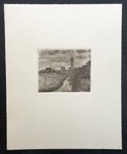 Friedrich-Schaper-Cuxhaven-II-Radierung-1976-Nachlass