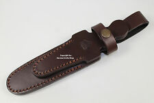 """GERMAN PUMA LEATHER KNIFE SHEATH FIT FOR """"HUNT WHITE HUNTER"""" COLLECTORS KNIFE !!"""