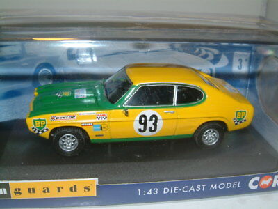 CORGI VANGUARD VA13312 1:43 O SCALE Ford Capri 2300GT Mk1 1969 Tour de France