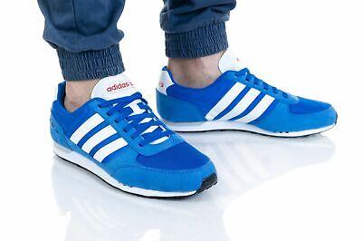 adidas City Racer F97872 Herren SPORTSCHUHE blau 43 13