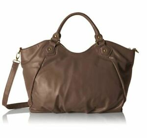 Buxton-Kimberly-Tote-Crossbody-amp-Shoulder-Hobo-Bag-in-Grey-Brown-amp-Merlot