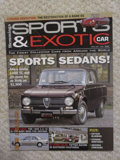 hemmings sports and exotic magazine index