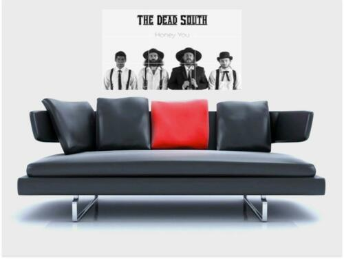 """THE DEAD SOUTH BORDERLESS MOSAIC TILE WALL POSTER 35/"""" x 23/"""" ENERGETIC FOLK"""