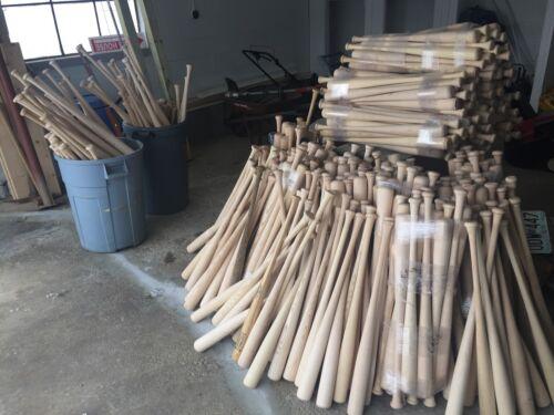 24 Craft Quality Wooden Blem Baseball Bats FREE SHIPPING!
