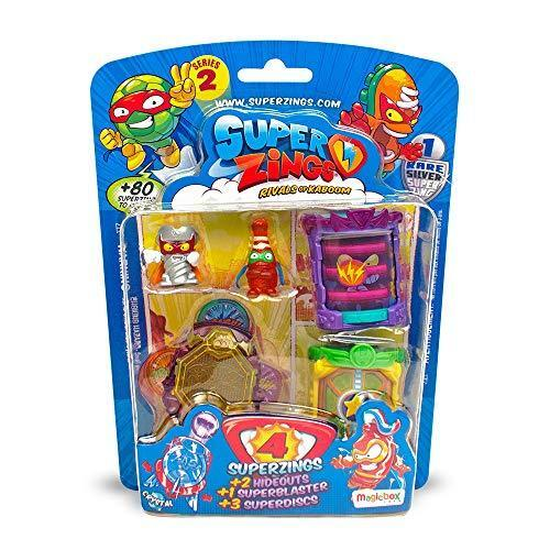 Multi-Colo MagicBox MBXPSZ2B416IN00 SuperZings Series 2 Blister Hideout Playset