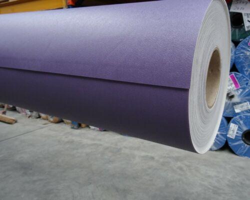 5,75 €//m² - 2m Breite PVC Bodenbelag in Uni-Farbe 1//2 lila