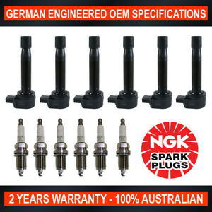 6x-Genuine-NGK-Spark-Plugs-amp-6x-Ignition-Coils-for-Honda-Accord-CG1-CK1