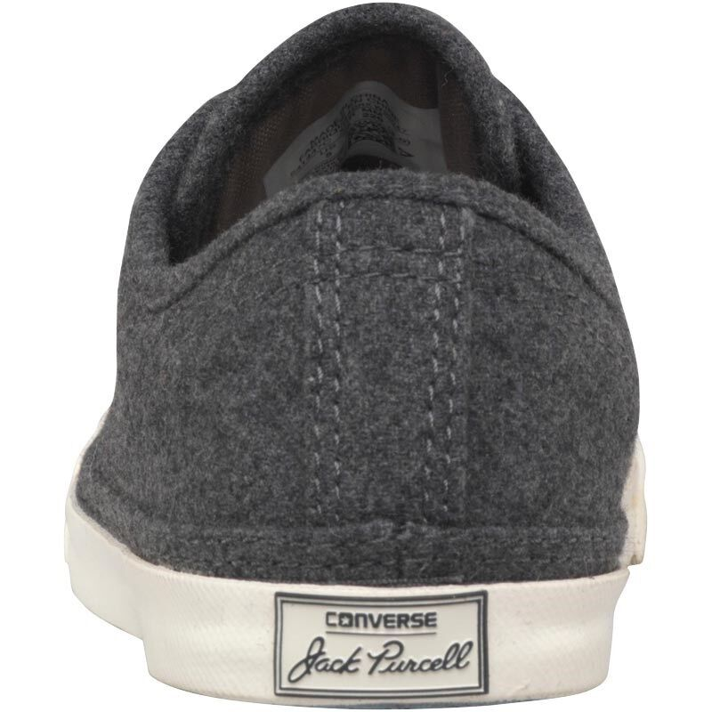 Converse Converse Converse Jack Purcell LP LS Ox Wool Trainers, Charcoal, UK 3 EU 35, BNIB 8ec663