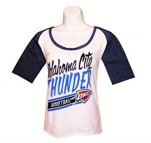 ad7a419dd81 Nba Womens Apparel - Oklahoma City Thunder Adidas NBA Team Tee-Shirt ...