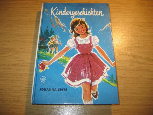Johanna Spyri Bambini Storie Libro di 1968 il rosenresli + dei pascoli-Joseph