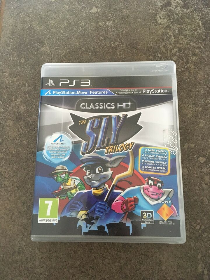 The Sly Trilogy, PS3