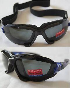 100%UV Polarized Changeable Sunglasses Blue plastic frame unisex adult-cycling