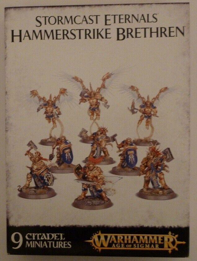 Warhammer Age Of Sigmar AoS Stormcast Eternals Hammerstrike Brethren