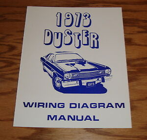 1973 plymouth duster wiring diagram manual 73. Black Bedroom Furniture Sets. Home Design Ideas
