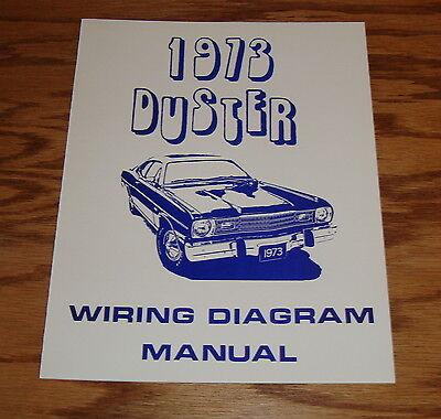 1973 plymouth duster wiring diagram manual 73 ebay