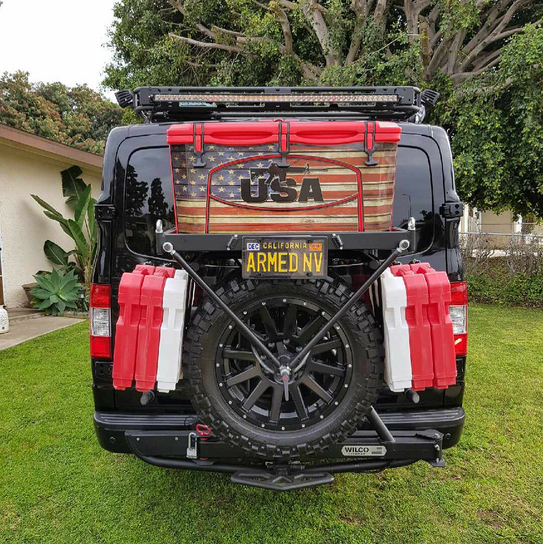 USATuff Custom Cooler Wrap Decal Grizzly fits Grizzly Decal 75qt FULL 2nd Amen Flag WD a7ae5d