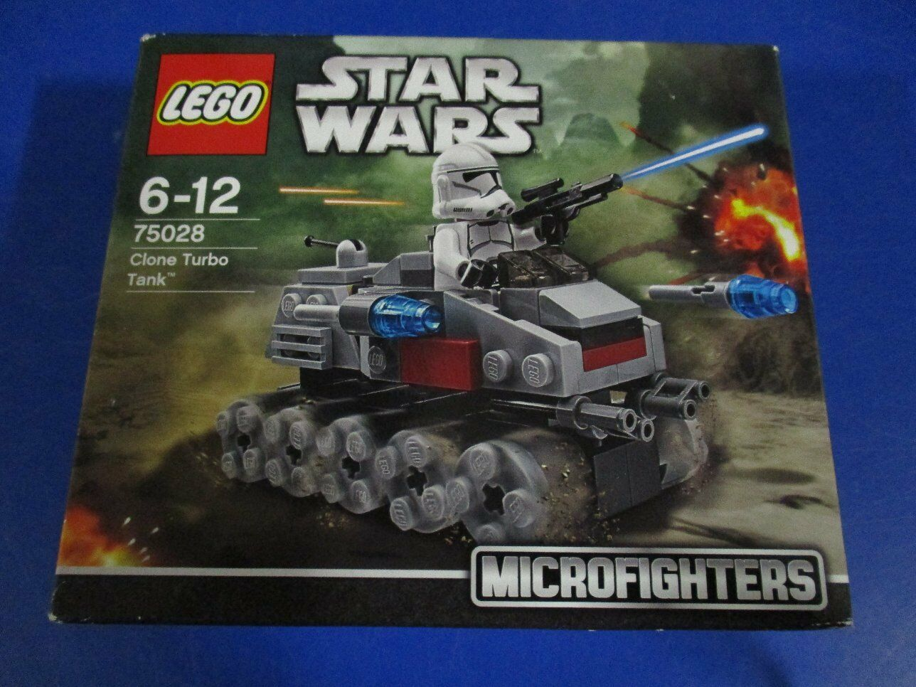 LEGO Star Wars Clone Micro Fighters 75028 Clone Wars Turbo Tank NEU OVP 5baae6